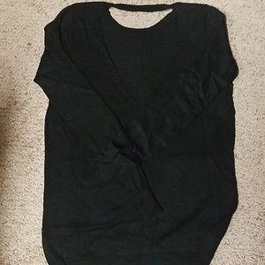 Guess black tunic